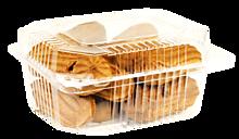 Печенье мини-эклеры с брусничной начинкой, 200г