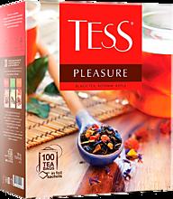 Чай черный «Tess» Pleasure, 100 пакетиков