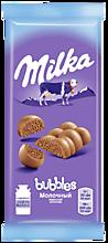 Молочный шоколад «Milka Bubbles» Пористый, 76г
