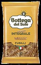 Макаронные изделия «Bottega del Sole» Спирали, цельнозерновые, 400г