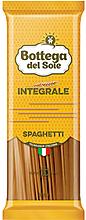 «Bottega del Sole», макаронные изделия «Спагетти», цельнозерновые, 500г