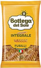 «Bottega del Sole», макаронные изделия «Спирали», цельнозерновые, 400г