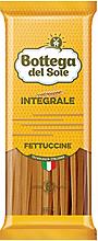 «Bottega del Sole», макаронные изделия «Фетучини», цельнозерновые, 500г