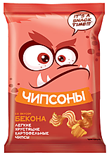 «Чипсоны», чипсы со вкусом бекона, 40г