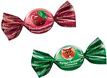 Ассорти конфет «Фундук Петрович» и «Вишня Владимировна» в шоколадной глазури, 500г