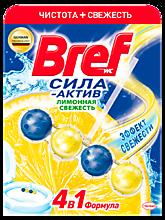 Чистящее средство «Bref» для унитаза «Сила актив» Лимонная свежесть