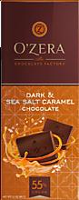 Шоколад «OZera» Dark&Sea salt caramel, 90г
