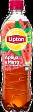 Черный чай «Lipton» со вкусом арбуза и мяты, 500мл