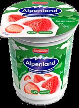 Йогурт 0.3% «Альпенлэнд» Клубника, 60г