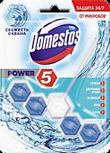 Блок для унитаза «Domestos Power 5» Свежесть океана, 55г