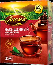 Чай черный «Лисма» Насыщенный, 100 пакетиков