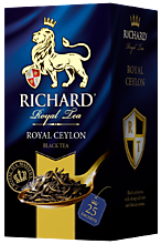 Чай черный «Richard» Royal Ceylon, 25 пакетиков, 50 г
