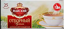 Чай черный «Майский» Отборный, 25 пакетиков, 50г