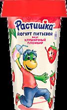 Йогурт питьевой 2.8% «Растишка» Клубничный пломбир, 190г