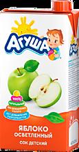 Сок «Агуша» яблочный, осветленный, 500мл