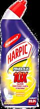 Дезинфицирующее средство «Harpic Power Plus» лимонная свежесть, 450мл
