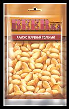 Арахис «Beerka» с солью, 90г