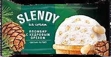 Пломбир «Slendy» с кедровым орехом, 80г