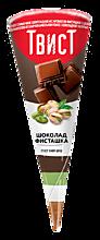 Мороженое «Твист» Шоколад и фисташка, 73г
