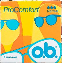 Тампоны «O.B.» Pro Comfort нормал, 8шт