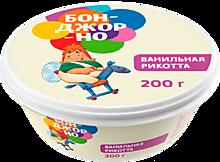 Сыр «Бонджорно» Рикотта с ванилью, 200г