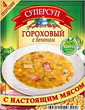 Суп варочный «СУПЕРСУП» гороховый с беконом, 70г