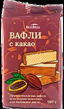 Вафли «ВкусВилл» с какао, 180г
