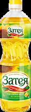 Масло подсолнечное «Затея», 1л