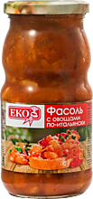 Фасоль «EKO» с овощами по-итальянски, 510г