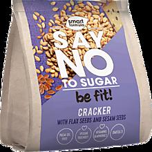 Крекер «Smart Formula» Say no to sugar, со льном и кунжутом,, 180г