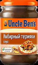 Соус «Uncle Bens» Терияки имбирный, 210г