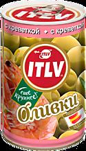 Оливки «ITLV» с креветками, 314мл