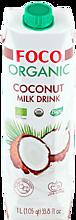 Кокосовый молочный напиток «FOCO» Organic, 1л