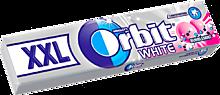 Жевательная резинка «Orbit» XXL, Белоснежный Bubblemint, 20г