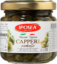 Каперсы «IPOSEA» Окьелло в уксусе, 95г