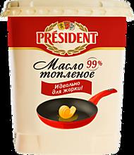 Масло сливочное 99% «PRESIDENT» топленое, 380г