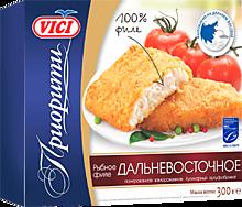 Рыбное филе «Vici» дальневосточное, в панировке, 300г
