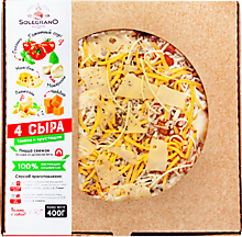 Пицца «ВкусВилл» 4 сыра, 400г