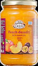 Десерт «Delphi» персиковый с маракуйей, 360г