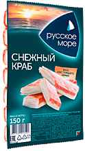 Крабовые палочки «Русское море» Снежный краб, 150г