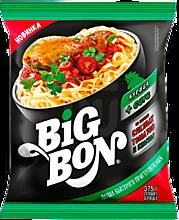 Лапша «BigBon» с курицей, томатным соусом и кинзой, 75г