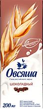 Напиток овсяный 3.2% «Овсяша» шоколадный, 200мл