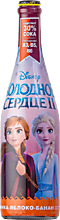 Напиток газированный «Disney» Клубника-яблоко-банан, 750мл