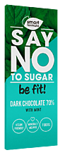 Шоколад «Smart Formula» Dark with mint, 90г
