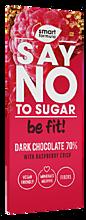 Шоколад «Smart Formula» Dark with raspberry crisp, 90г
