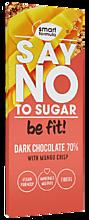 Шоколад «Smart Formula» Dark with mango crisp, 90г
