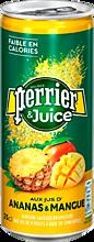 Напиток газированный «Perrier» ананас-манго, 250мл