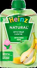 Фруктовое пюре «Heinz» Фруктовый салатик, 90г