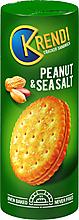 «Krendi», крекер-сэндвич Peanut&sea salt, 170г