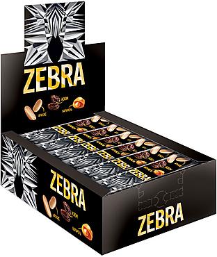 Вафли «Zебра», глазированные, 40г